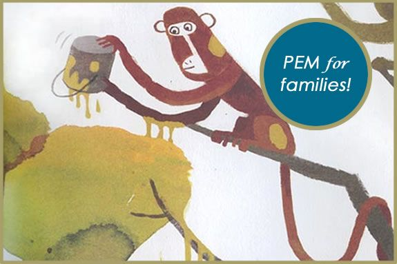 Story Trails at PEM: Discover the mischief some monkeys wreak as we read Adam Le