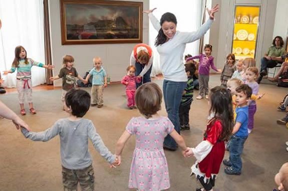 PEM has a story time in the museum just for kids under 5! Salem, Massachusetts