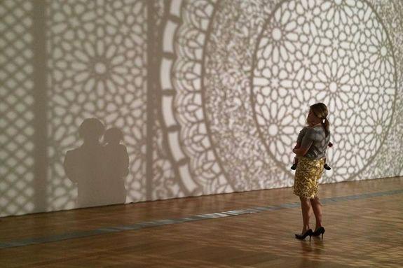 PEM exhibition Intersections: Anila Quayyum Agha