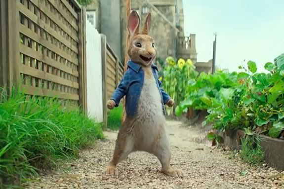 Come to the Newbury Public Library for a free showing of Peter Rabbit!