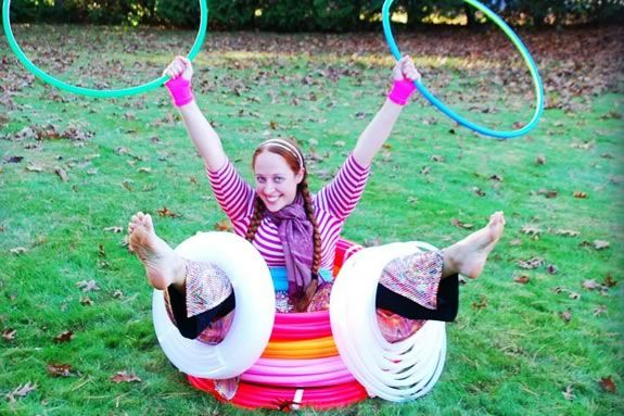 Hula Hoops are healthy and fun! Come find out for yourself at Sawyer Free Librar