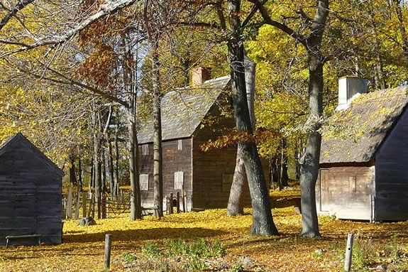 Learn about colonial medecine at Pioneer Village in Salem Massachusetts
