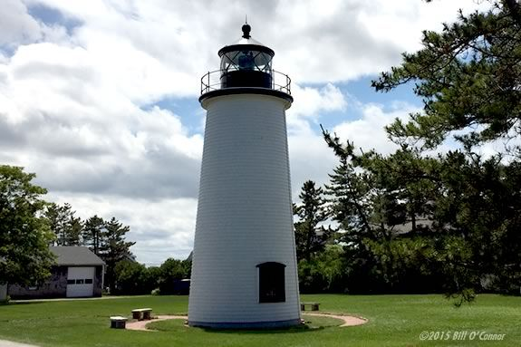 Be prepared to climb a steep ladder to get a view from this iconic Light House. Photo: Plum Island Light House ©2015 Bill O'Connor