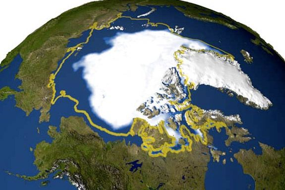 NASA's NASA's polar ice and global climate studies