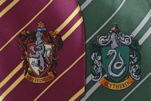 Make your own Hogwart's House Tie at Newburyport Public Library!