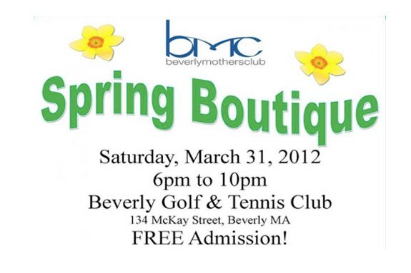 Beverly Mothers Club Spring Boutique