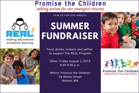 Promise the Children Summer Fundraiser Nahant MA