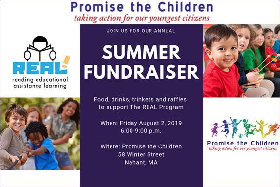 Promise the Children Summer Fundraiser Nahant MA