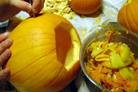 You bring the pumpkin and we'll supply the fun and the tools to decorate it!