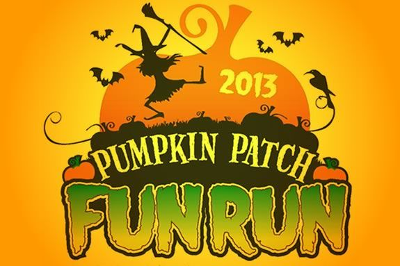 The Pumpkin Patch Fun Run ofr kids is a fundraiser for the Jeanne Geiger Center