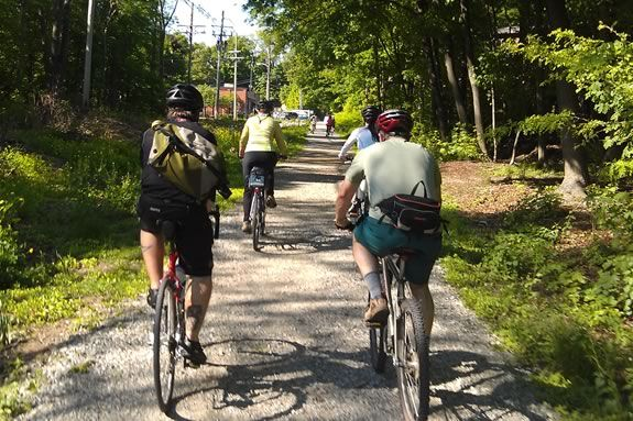 Bike the Rail Trail from Topsfield to Danvers and back as part of Trails and Sails!