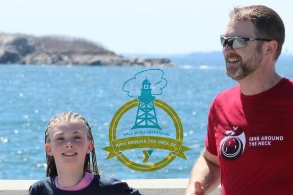 North Shore YMCA Ring Around the Neck 5k and Children's Fun Run in Marblehead Massachusetts
