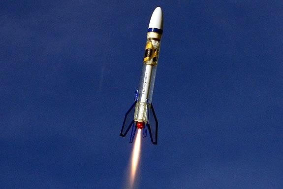 There's a lot to see and learn at a CMASS Model Rocket Launch!