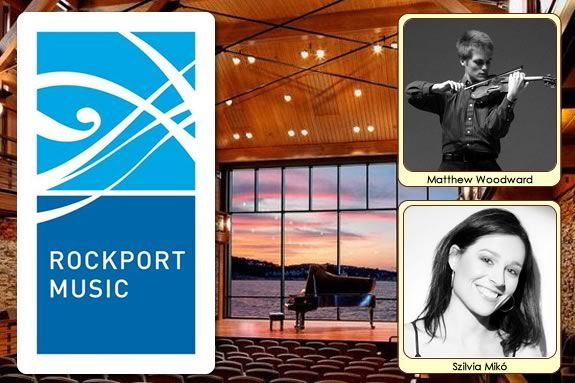 Rockport musics presents young composer/musicians Szilvia Miko and Matthew Wooda