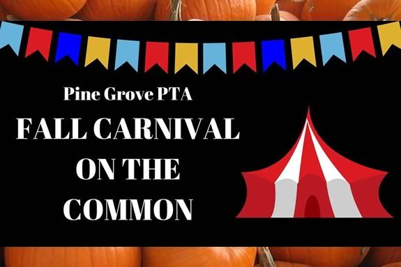 Pine Grove PTA's Fall Carnival on the Common in Rowley Massachusetts