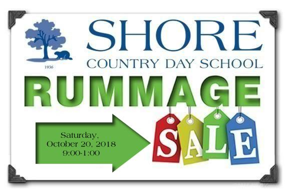 The Annnual Shore Country Day School Rummage Sale in Beverly Massachusetts