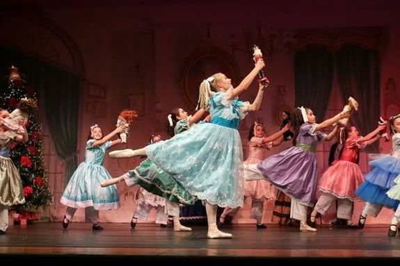 The Greater Salem Ballet performs the Nutcracker at Lynn Auditorium featuring more than 100 children and adults from the North Shore!