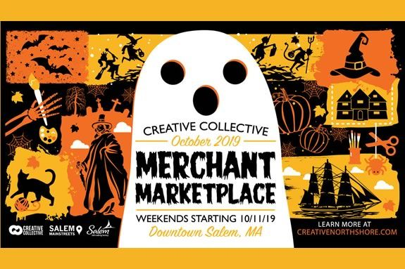 The Salem Creative Collective Market runs on weekends during the last 3 weeks of October!