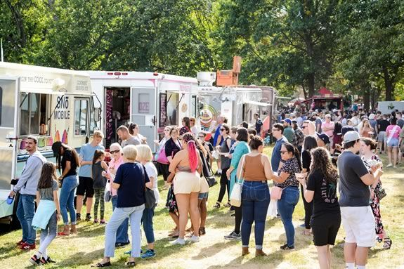 Salem Massachusetts Food Truck Festival Haunted Happenings on the Salem Common