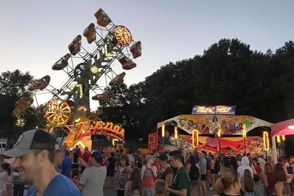 Enjoy the family fun atmosphere of the Wreaths Across America Carnival in Salem
