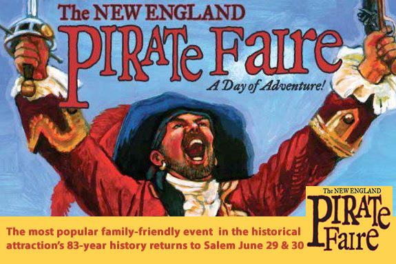 Visit Salem MA for Pioneer Village: Salem 1630 for the New England Pirate Faire