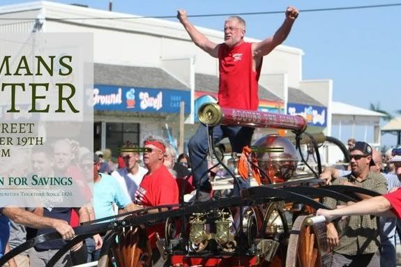 Join the fun of the Fireman's Muster in the heart of Salisbury MA