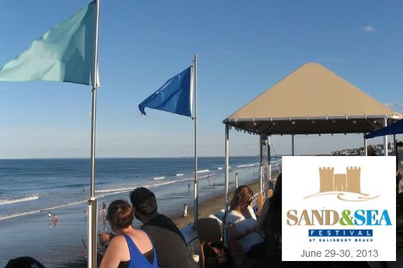 Sand and Sea Festival - Salisbury Beach. Salisbury MA
