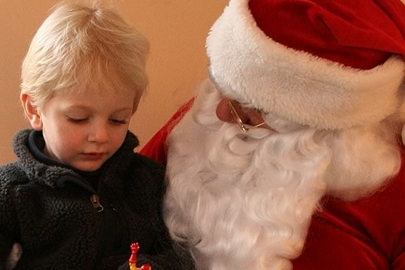 Kids will enjoy Breakfast with Santa at the Hamilton Wenham Community House