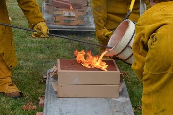 Come to an iron casting demonstration at Saugus Iron Works as part of Trails and Sails