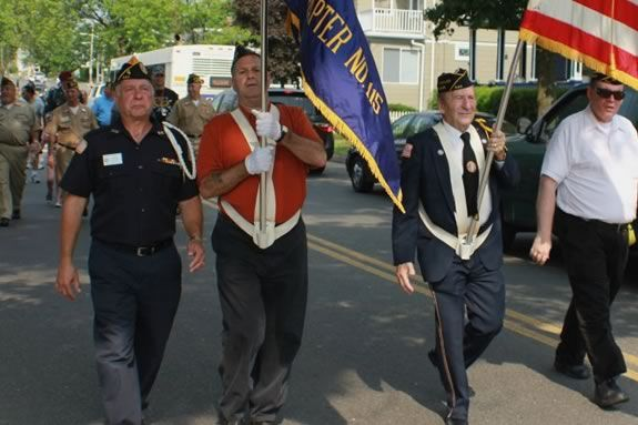 Memorial Day is a big celebration in Saugus, MA. Come thank our veterans.