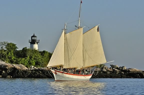 Sail with the tall ships from Boston to Gloucester aboard the Schooner Ardelle!