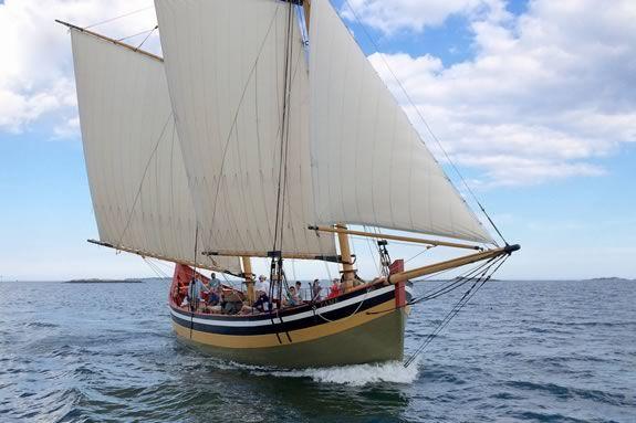 Take a sailing tour aboard Schooner Fame of Salem for Trails & Sails 2021!