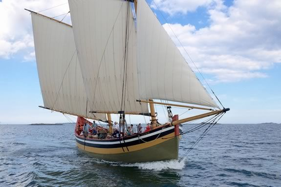 Take a sailing tour aboard Schooner Fame of Salem for Trails & Sails 2017!