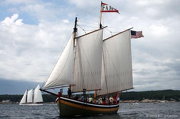Take a sailing tour aboard Schooner Fame of Salem for Trails & Sails 2013!