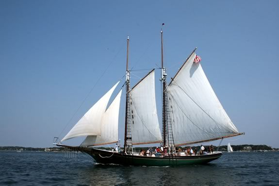 Schooner Lannon is offering a free sail - first come first served - during Trails and Sails 2019