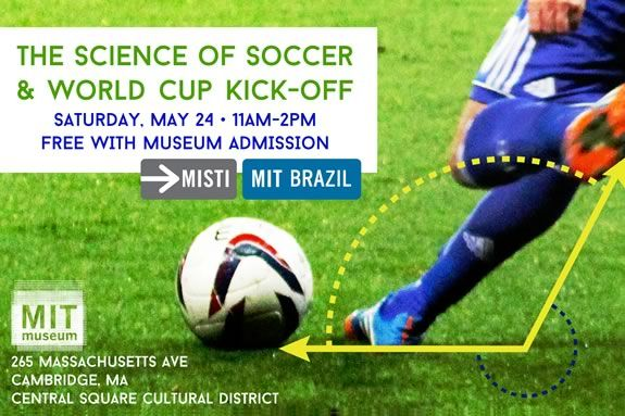 Science of Soccer at MIT Museum
