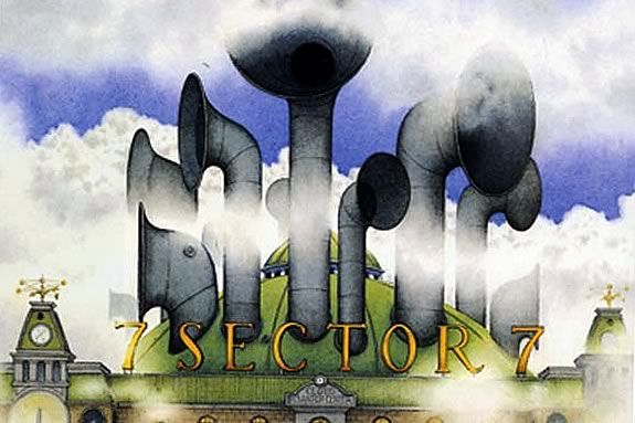 Sector 7 by David Wiesner is the subject of this week's Story Trails