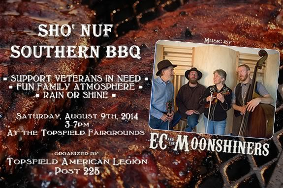 Proceeds from the Sho' Nuf Southern BBQ go to North Shroe Veterans in need.