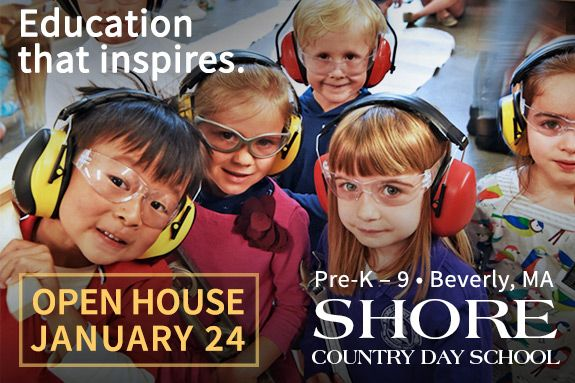 Admissions Open House at Shore Country Day School Beverly MA Admissions Open House for prospective students at Shore Country Day School. An independent day school.