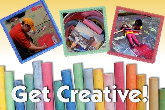 Get creative in Rockport Festival's Sidewalk Art Contest!