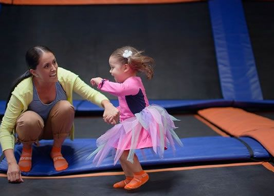 Toddler Time at Sky Zone Trampoline Park Danvers MA