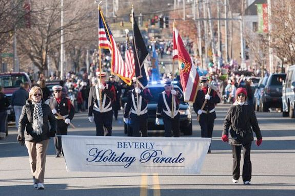 Beverly MA Holiday Parade on November 26, 2017