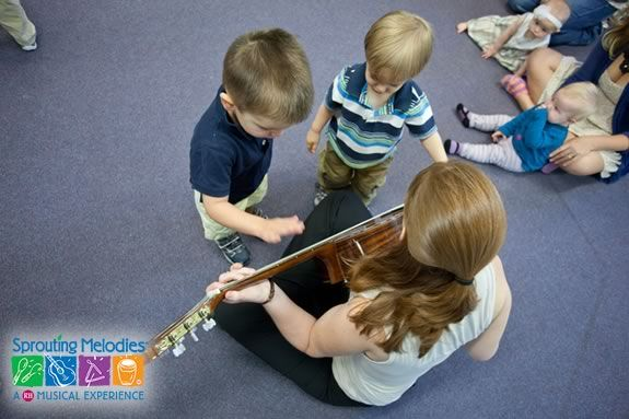 Sprouting Melodies Music Program at Newbury Town Library