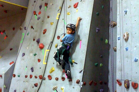Come to the Sterling YMCA for Rock Wall and NERF Fun with Boy Scout Troop 49