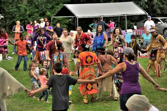 Come to the Annual Native American Summer Moon Pow-Wow at Lynch Park in Beverly, Massachusetts!