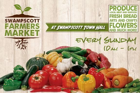 The Swampscott Farmers Market happens every Sunday through October.