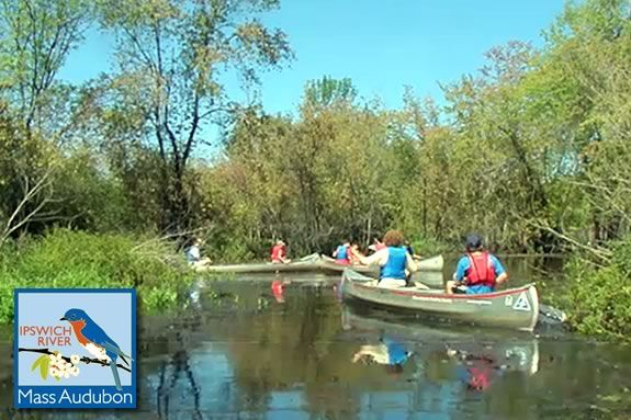 Teens can explore the Ipswich River while birding on this adventure!