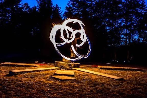 Come for a solstice hike at Ward Reservation to celebrate the Winter Solstice and watch a fire-themed performance by Tetra!