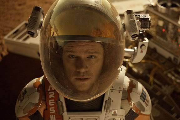 Teens are invited to the Newbury Town Library for a free showing of The Martian!