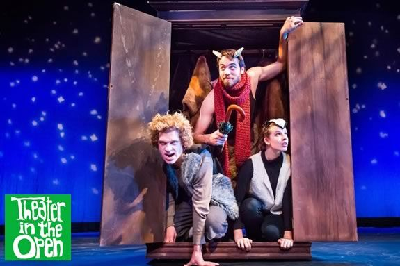 Join the fun with Theater in the Open's interpretation of 'The Lion, the Witch and the Wardrobe'